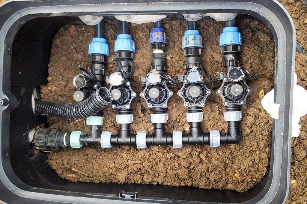 Impianti di irrigazione per giardini a padova n g service for Progetto irrigazione